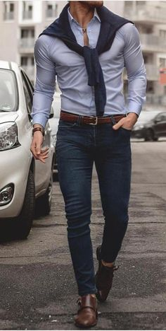 Best Mens Fashion Fashion Wear Stylish Mens Fashion Casual Jeans Casual Attire Men Casual Denim Jeans Outfits Hombre Men Style Tips Simple Casual Outfits, Stylish Mens Outfits, Men Casual, Casual Attire, Casual Jeans, Mode Man, Formal Men Outfit, Herren Outfit, Mens Fashion Suits