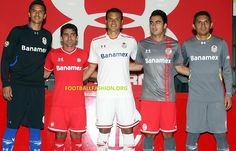 Toluca 2013/14 Under Armour Away and Third Jerseys