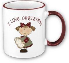 mug_christmas_ Christmas Dinnerware, Christmas Mugs, Mug Cup, Cups, Porcelain, Album, Tableware, Painting, Christmas Mug Rugs