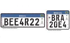 Denatran adia (de novo) início do uso de novas placas no Brasil