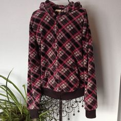 Energie Soft black hoodie with design print. Very soft, hooded sweater. Zip front with two pockets. Gently worn nice condition. Energie Other