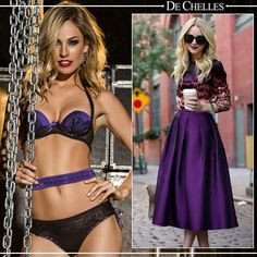 Coleção Fashion #dechelles #lingerie #streetstyle #fashion vendas@dechelles.com.br