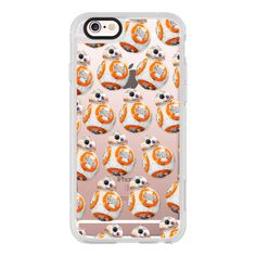Star Wars - BB8 - #2 - iPhone 6s Case,iPhone 6 Case,iPhone 6s Plus... (130 BRL) ❤ liked on Polyvore featuring accessories, tech accessories, iphone case, clear iphone cases, iphone cover case, apple iphone cases, iphone hard case and iphone cases