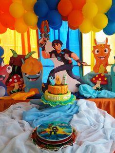 En esta oportunidad estuvimos en la celebración del cumpleaños de MiguelÁngelquien cumplió5 añitos. Una fiesta enmarcada en la muy popul...