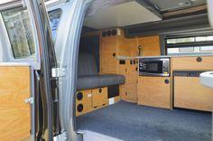Sportsmobile builds custom fiberglass cabin for new camper van