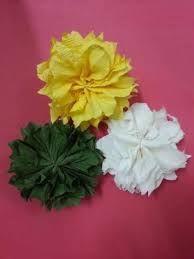 Resultado de imagem para ribbon trim flower, tutorial