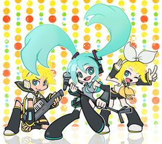 Vocaloid Panty and Stocking style!