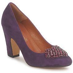 Zapatos de tacón - Elegancia, glamour y modernidad para este zapato de tacón Fericelli que se lleva muy bien por la noche. Su tacón alto asegura comodidad y la parte delantera está decorada con detalles brillantes.