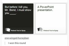 I'm usually afraid to read the cards against humanity posts but this is great! Stupid Funny Memes, Haha Funny, Funny Cute, Funny Posts, Hilarious, Funny Stuff, Random Stuff, Funny Things, Funny Humor