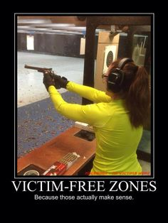 #GunControl #GunRights #SecondAmendment #2ndAmendment #victim-freezones