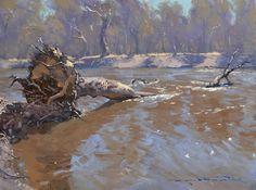 Lost Bear Gallery - Fine Art Gallery in the Blue Mountains - Warwick Fuller 2014 Exhibition Landscape Art, Landscape Paintings, Landscape Photography, Landscapes, Bear Gallery, Fine Art Gallery, Australian Painting, Australian Artists, Wooded Landscaping