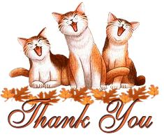▷ Thank You: Animated Images, Gifs, Pictures & Animations - FREE! Thank You Qoutes, Thank You Messages Gratitude, Thank You Gifs, Thank You Pictures, Thank You Wishes, Thank You Images, Thanks Gif, Now Quotes, Gatos Cats