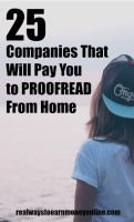 25 Companies That Hire Work at Home Proofreaders and Editors Are you a grammar expert? If so, you may be able to use your skills and work at home. Here's a list of 25 companies that will pay you to proofread. Work From Home Opportunities, Work From Home Jobs, Business Opportunities, Business Ideas, Earn Money From Home, Way To Make Money, Earn Money Online, Blogging, Proofreader