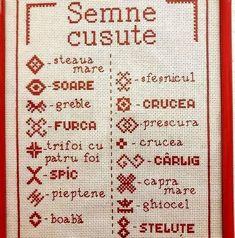 Arduino Projects, Simple Cross Stitch, Bullet Journal, Symbols, Embroidery, Knitting, Moldova, Crossstitch, Romania