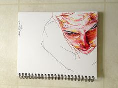 Top view marker sketch