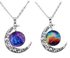 "MJartoria ""Love Across Light Years"" Filigree Crescent Moon Nebulae Cabochon Friendship Necklace Set of 2 MJartoria http://www.amazon.com/dp/B013K8KXBE/ref=cm_sw_r_pi_dp_BUxXvb0M7Y4KN"
