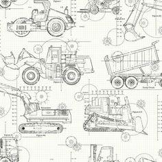 Pero815 701g 12721699 blueprint pinterest vehicle cars york ks2349 cool kids construction blueprint wallpaper malvernweather Gallery