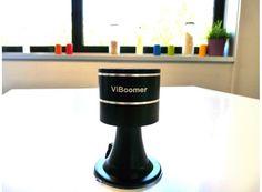 Mini-enceinte vibrante Bluetooth, FM et lecteur MP3