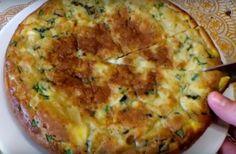 Нежный заливной пирог с яйцами и зеленым луком (готовим в мультиварке) — umn1chka.ru