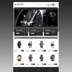 Responsive Watch Store Responsive PrestaShop Theme