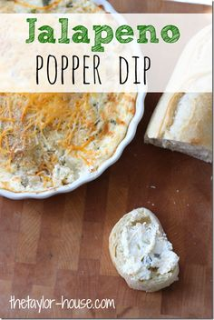 Jalapeno poppers are a game day favorite, and this dip from The Taylor House is sure to be a hit. Jalapeno peppers, cream cheese, sour cream, shredded cheese, bacon, and bread crumbs combine to make this delicious appetizer. Make sure to get some RITZ crackers for dipping!