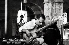 Veneto Jazz 2009  #jazz #guitar #bianconero #bassanodelgrappa #blackwhite #cameraoscurastudio #colombinofavazzi #frankjuliuspetolelli