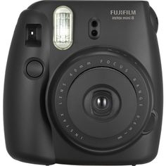 Fujifilm instax mini 8 Instant Film Camera Black (91 AUD) ❤ liked on Polyvore featuring accessories and fujifilm