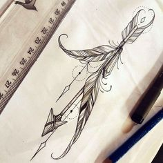 66 feather tattoo ideas