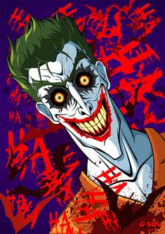 Imaginary Gotham - The art of Batman and his Universe. Joker Dc Comics, Joker Batman, Joker Art, Dc Comics Art, Comic Books Art, Comic Art, Marvel, Joker Wallpapers, Pretty Wallpapers