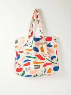 Accessories art college tote bag by Bobo Choses Cotton Tote Bags, Reusable Tote Bags, College Tote, Silkscreen, Purses And Bags, Lv Bags, Diy Tote Bag, Cute Tote Bags, Women's Accessories