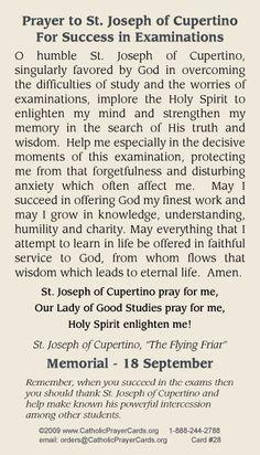Prayer to St. Joseph