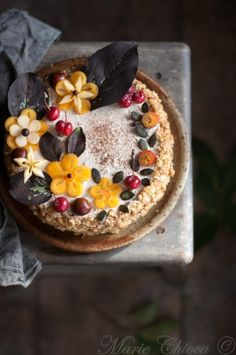 { Ode à l'automne… } | Saines Gourmandises Vegan Kitchen, Acai Bowl, Cake Recipes, Biscuits, Cooking, Breakfast, Healthy, Food, Index