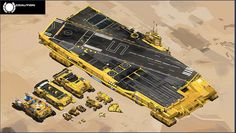 Deserts of Kharak concept art