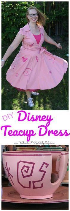 Disney World Teacup Dress Disneybound