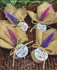 tags for wedding favors Wedding Gifts For Guests, Wedding Favor Boxes, Jute Crafts, Handmade Crafts, Hot Chocolate Wedding Favors, Lavender Bags, Diwali Gifts, Wedding In The Woods, Baby Decor