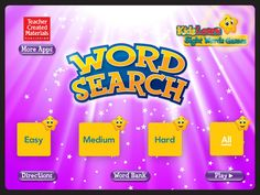 Give your child one of the building blocks needed to learn. Download Word Search: Kids Learn Sight Words Game app for $1.99 today from iTunes.