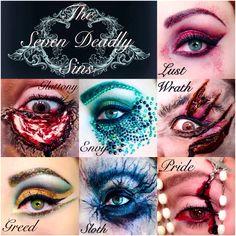 Seven Deadly Sins Eye Makeup