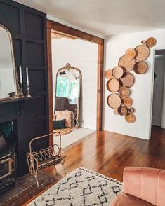 interior trends decor trends basket wall, wall decor, living room decor ideas # DIY Home Decor vintage 7 New Interior Decor Trends That Will Be Huge in 2020 by DLB Decoration Inspiration, Decor Ideas, Design Inspiration, Room Decorating Ideas, Room Ideas, Interior Decorating Styles, Decorating Websites, Hallway Decorating, Wall Ideas