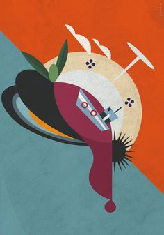 Illustrazione per la città di Taranto. Il cibo tra terre e mare. My Works, Art, Art Background, Kunst, Art Education