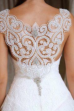 Lace Back Wedding Dresses ♥✤ | Keep the Glamour | BeStayBeautiful