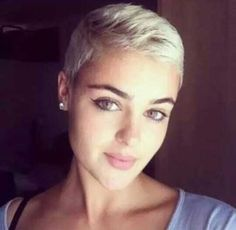 Super Short Hairstyles Super Short Haircuts For Round Faces Round Face In Sassy Ginger