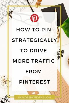 Are you using Pinterest to promote your blog posts? Well did you know that there are strategic ways that you can pin on Pinterest to boost your blog to even more people? I have some proven pinning tactics that I wanna share with you today that help my blog posts reach even more people every single day.