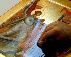 Olifa – Linseed Oil Varnish for the Egg Tempera Icon — Saint Gregory of Sinai Monastery Monastery Icons, Saint Gregory, Linseed Oil, Tempera, Ikon, Fresco, Mosaic, Saints, Pastel