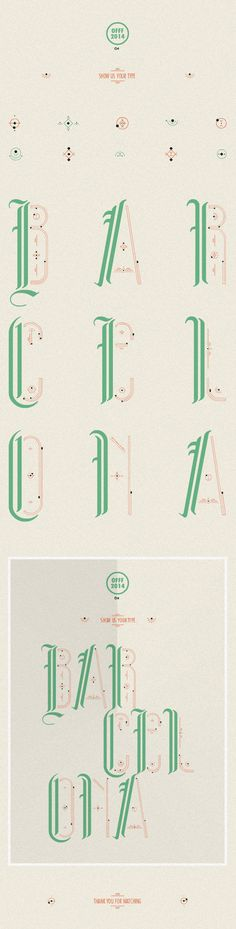 SUYT BCN OFFF 2014 by eme design, via Behance