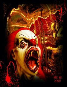 """Why do all mean clowns have teeth like """"IT""""?"""