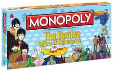 Beatles Game: Yellow Submarine Monopoly Game -Beatles Fab 4 Store Beatles Merchandise by The Beatles