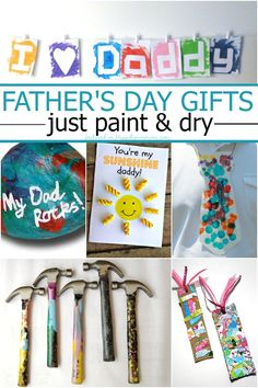 Over 10 process art ideas for father's day gifts. #3 is genius!