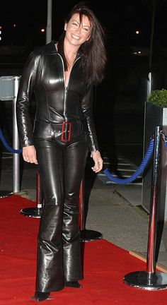 Black Leather Zipped Catsuit worn By Suzi Perry. Buy your Catsuit for dance from DCUK Dance Clothes. Leather Pants Outfit, Leather Jumpsuit, Leather Dresses, Suzi Perry, Leder Outfits, Leather Fashion, Steampunk Fashion, Gothic Fashion, Leggings Are Not Pants