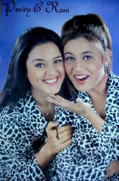 Preity Zinta and Rani Mukherjee
