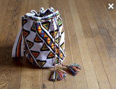 Bohemian Mochila Handmade Bag Ethnic Festival Beach Tote Fabric Tassel Handbag Purse Wayuu Crossbody Mixed Print Funky Boho on Etsy, $95.00